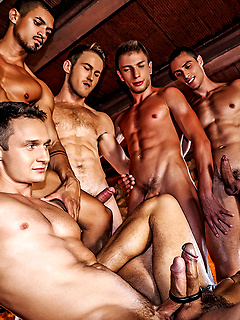 gay orgy porn pictures Group sex / Orgy - Two horny guys.